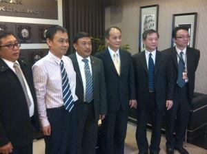 Pertemuan delegasi Taiwan, Indonesia dan China untuk melakukan penyelidikan bersama