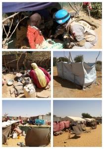 Suasana IDP Camp Um Barro